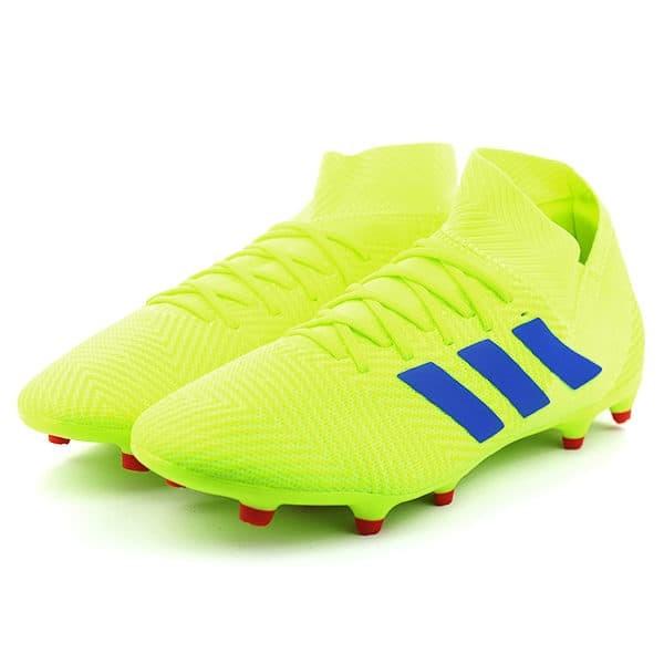 Jual Sepatu Sepakbola Adidas Nemeziz 18 3 Fg Solar Yellow Hijau