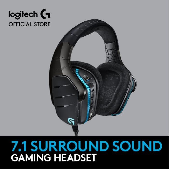 7b71859fe5b Jual Logitech G633 Artemis Spectrum RGB 7.1 Surround Gaming Headset ...