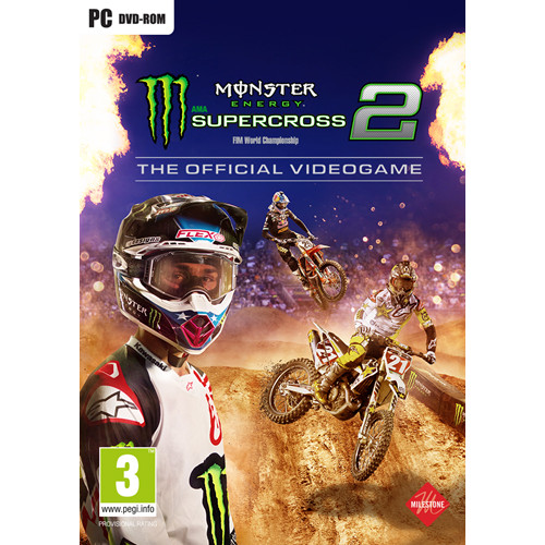 Foto Produk Monster Energy Supercross: The Official Videogame 2 for PC or Laptop dari WILDANS GAMES