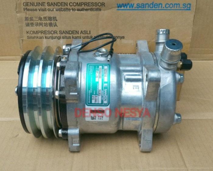 Jual Compressor Compresor Kompresor AC Mobil SANDEN SD508 / SD 508/ SD5H14  - yyh store   Tokopedia