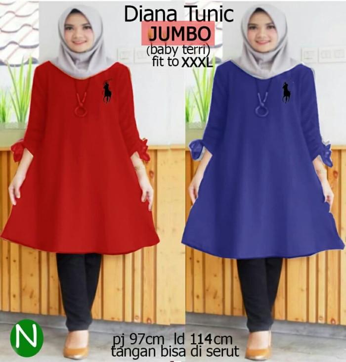 Jual Tj 50746 Baju atasan JUMBO wanita muslim murah terlaris ... bbce969893