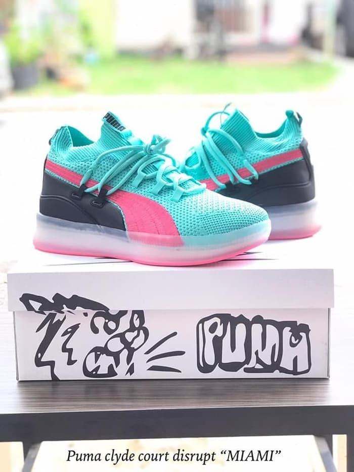 online store 19eac 874d7 Jual Sepatu Basket Clyde Court Disrupt Miami South Beach Tosca Pink - Kota  Batam - Sportsman Store | Tokopedia
