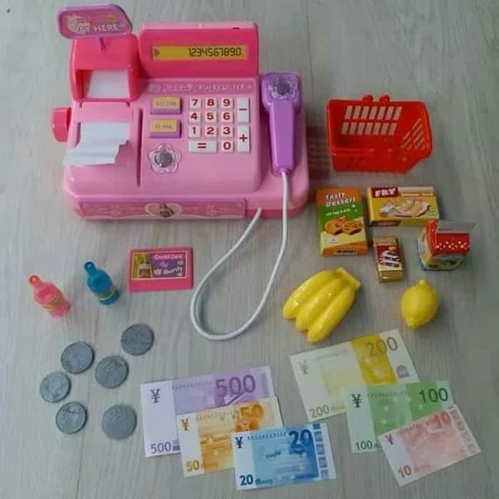 harga Abc mainan anak kasir kasiran Tokopedia.com