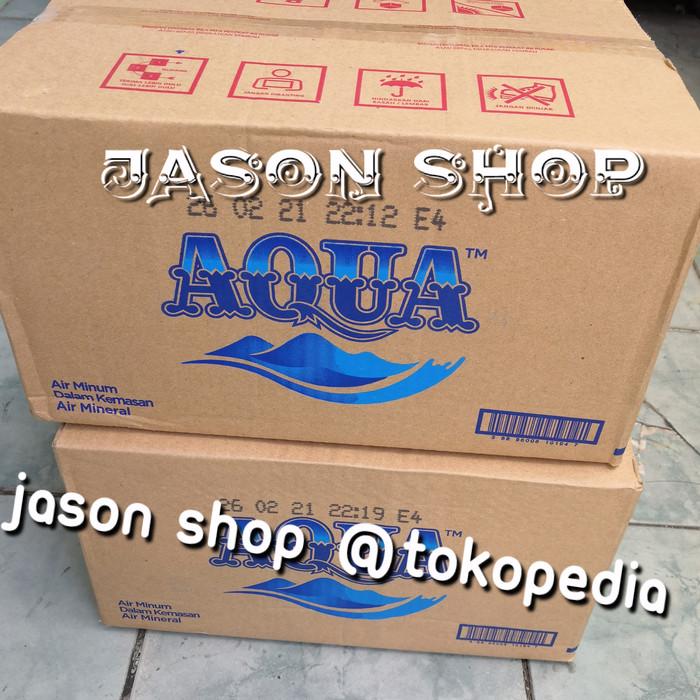 harga Air mineral/aqua gelas/(amdk) aqua uk.240ml 1 dus isi 48 cup Tokopedia.com