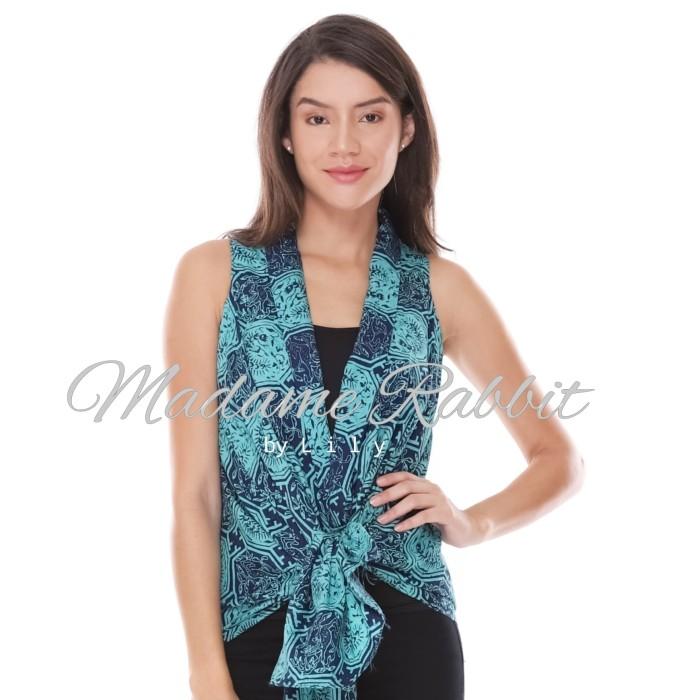 Jual Model Baju Sekarang Madame Rabbit Hijau Tosca Batik Modern Berkualitas Dki Jakarta Madame Rabbit Tokopedia