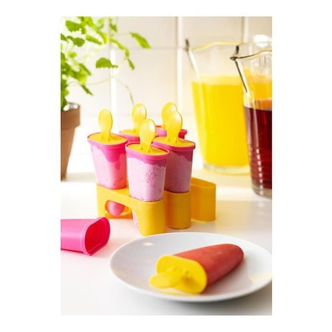 Hot Item Ikea Chosigt Cetakan Es Krim Loli - Pink