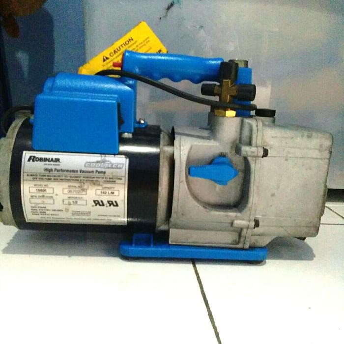 Robinair Ac Machine >> Jual Vacuum Ac Robinair Cooltech 15601 Bekas Biru Jakarta Timur Nnnteknik Tokopedia