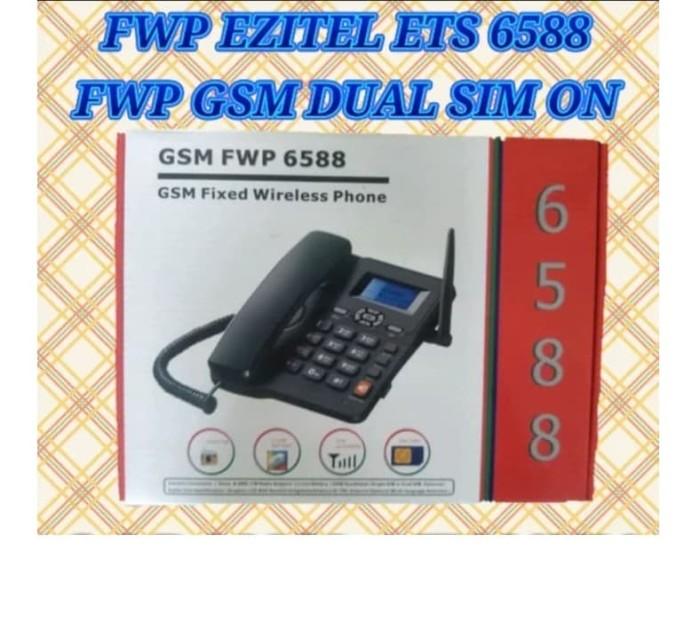 harga Jual telp fwp telpon telepon telephone fwt rumah gsm simtel sim 300 Tokopedia.com