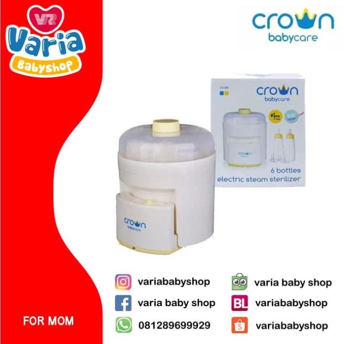 Foto Produk CROWN 6 BTL STEAM STRL CR 088 dari VARIA BABY SHOP