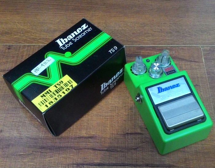 Jual Ibanez TS9 Silver Mods By HHM Overdrive/Booster - Jakarta Timur -  Daily Music Store | Tokopedia