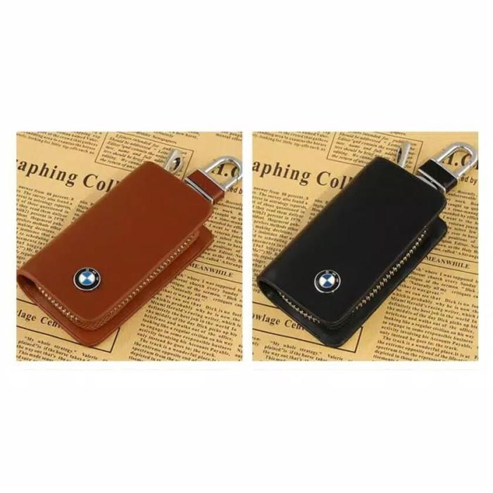 Foto Produk Dompet Kulit Gantungan Kunci Mobil Dompet Stnk BMW dari CarAuto