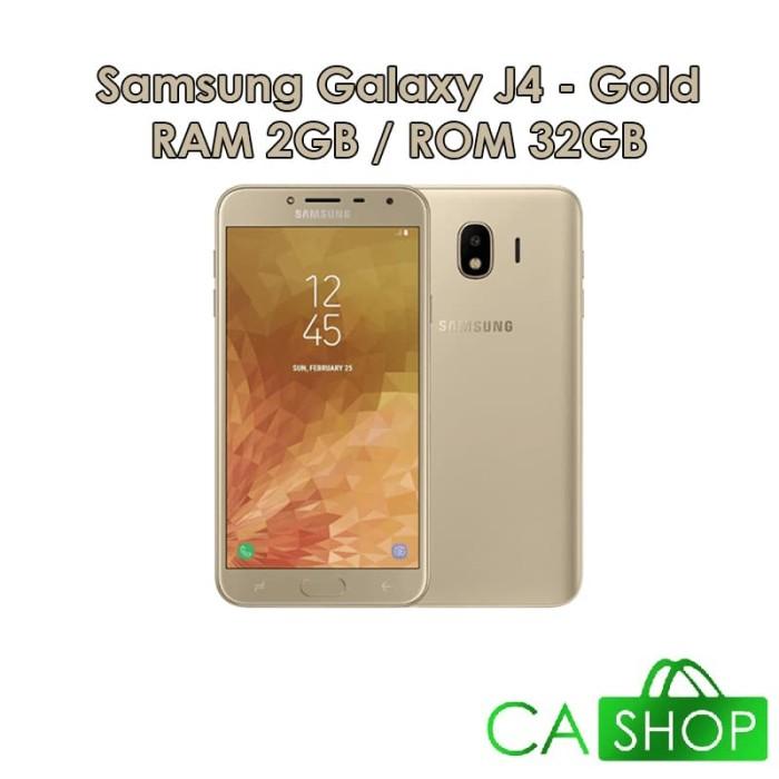 harga Samsung galaxy j4 j400 - 2gb 32gb (2/32) - gold - baru new - resmi Tokopedia.com