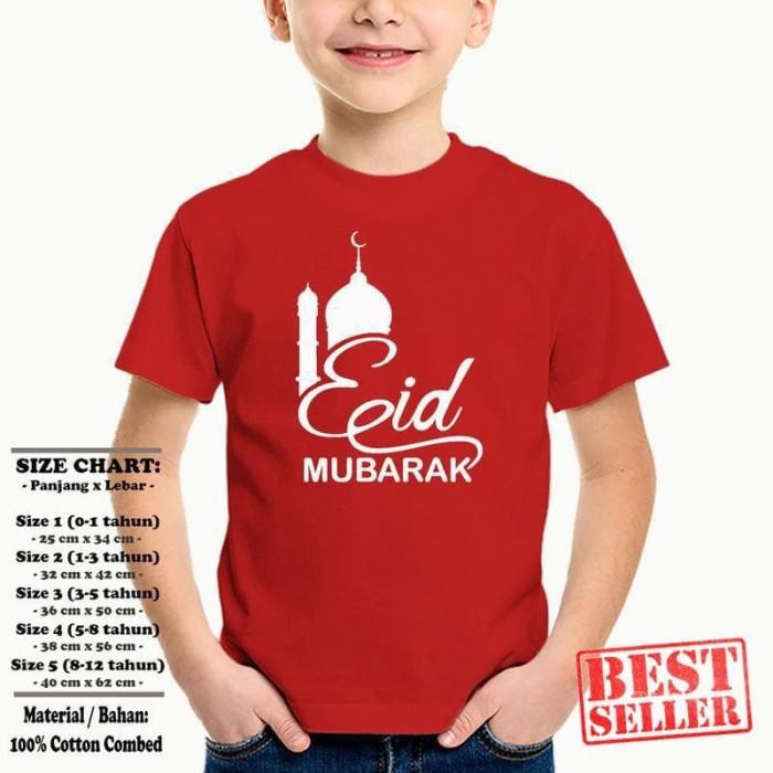 Jual Kaos Anak Baju Muslim Sp Asmsak018 Eid Mubarak Masjid 2 Ukuran 1 12 Jakarta Utara Pusat Distro Indonesia Tokopedia
