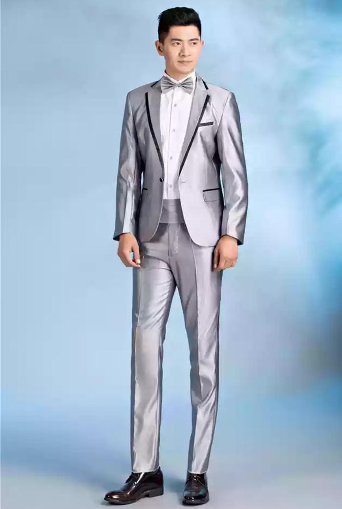 Jual Butik Jas Jsma 02 Setelan Jas Formal Blazer Pengantin Pria Gold Silver Kota Bandung Eriya Jas Tokopedia