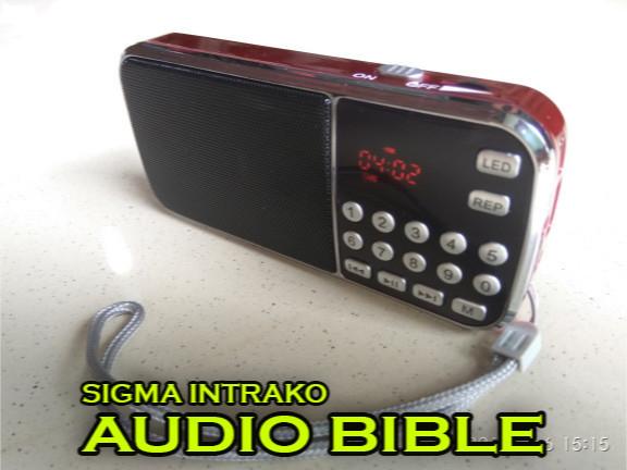 Jual Audio Bible (Alkitab Audio) with MP3 Player and FM Radio - DKI Jakarta  - Sigma Intrako | Tokopedia