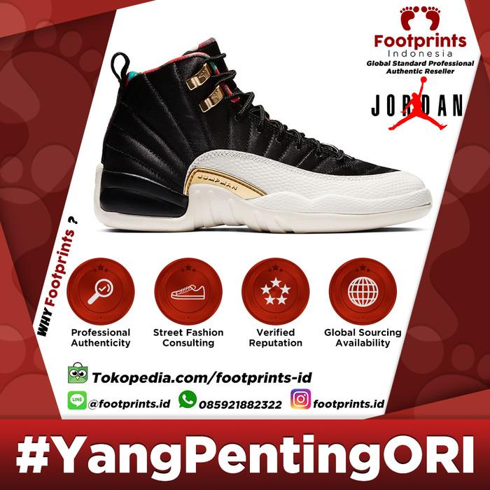 quality design d8252 18d5a Jual Nike Air Jordan 12 Chinese New Year 2019 100% Original Sneakers -  Jakarta Pusat - Footprints Indonesia | Tokopedia
