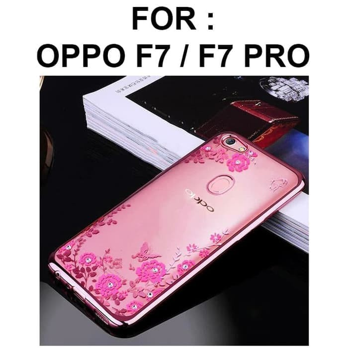 Jual Casing Hp Case Oppo F7 Pro Plus Softcase Cover Ultra Thin Tpu Flower Jakarta Pusat Casing Hp Q Tokopedia