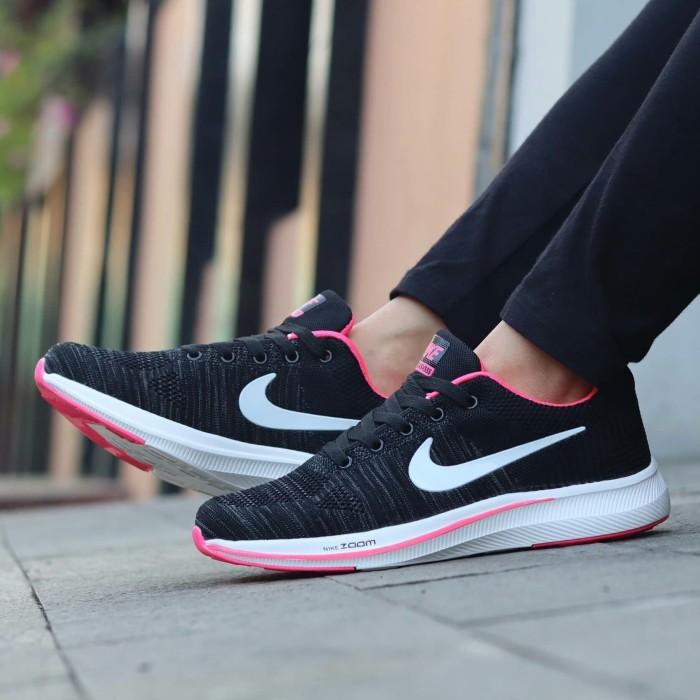 4f68555c17103 Review Sepatu Olahraga Nike Zoom Flyknit Sneakers Wanita Grade Ori ...