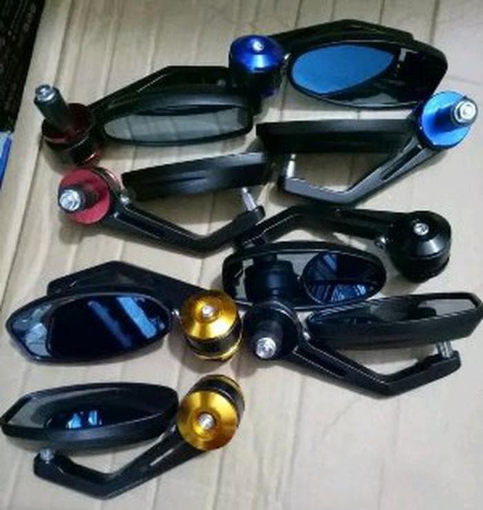 harga Spion jalu stang setang motor oval universal full cnc aksesoris vari Tokopedia.com