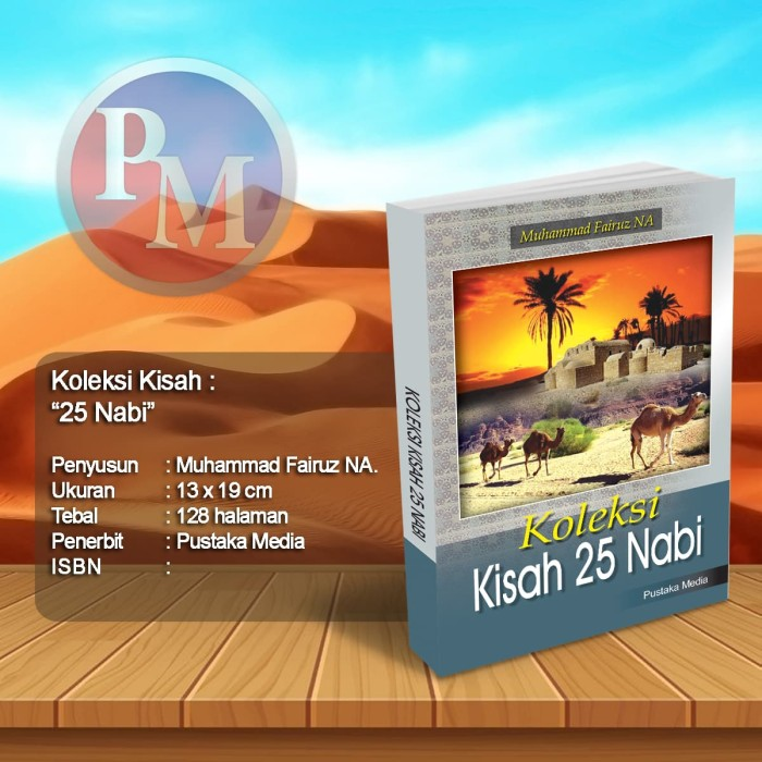 Foto Produk Koleksi Kisah 25 Nabi dari Pustaka Media Surabaya