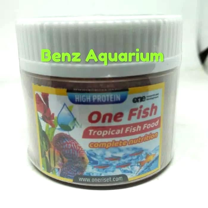 Makanan Ikan Hias Discus Manfish One Fish Tropical Complete Nutrition