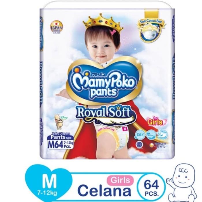 harga Mamypoko pants royal soft m64 girls Tokopedia.com