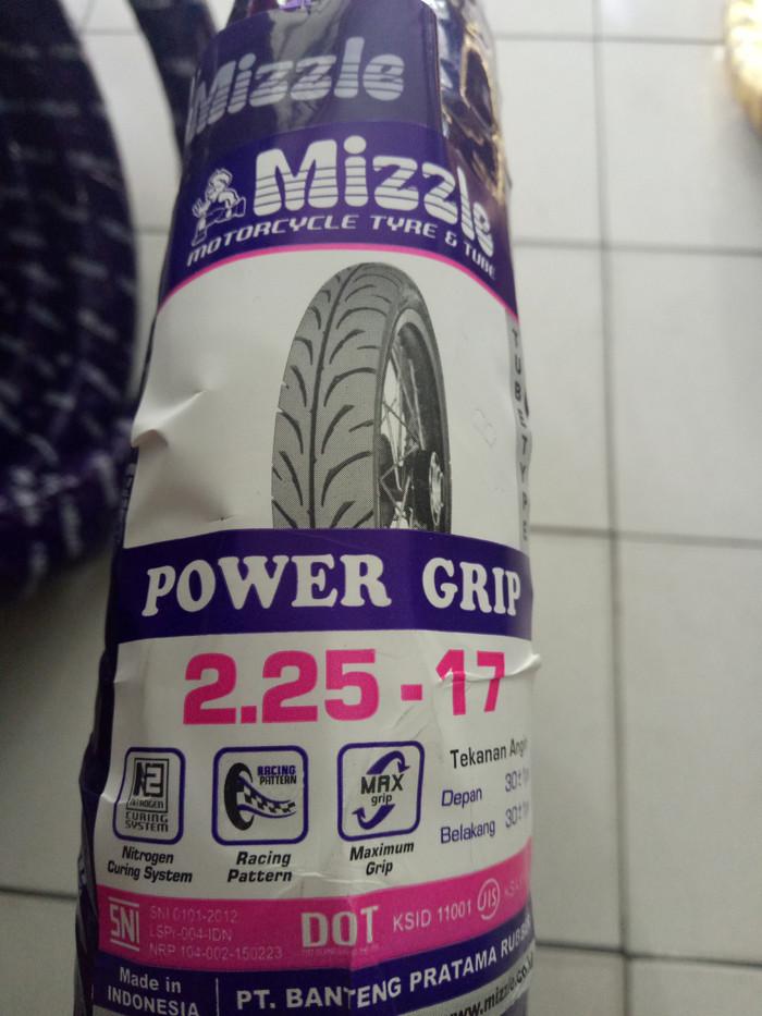 Foto Produk Ban Mizzle 225-17 / 2.25-17 Power Grip (Ban Luar Tanpa Ban Dalam) TT dari Oto Ritz