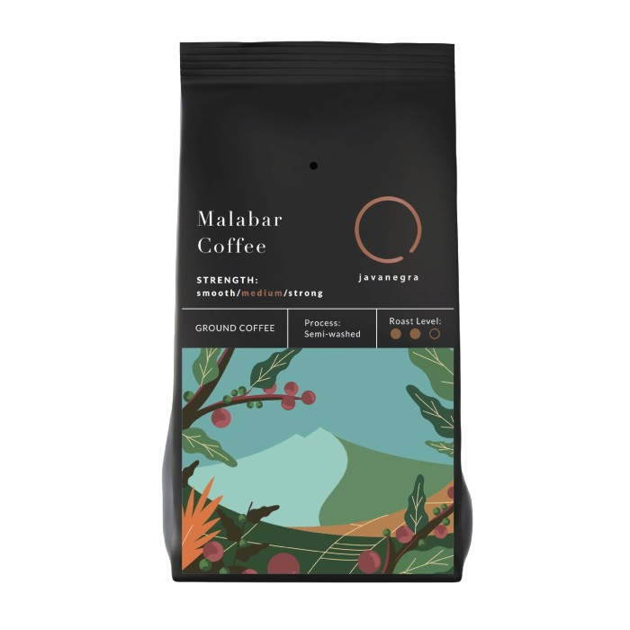 Foto Produk Javanegra Malabar Grounds 200gr dari Javanegra Coffee