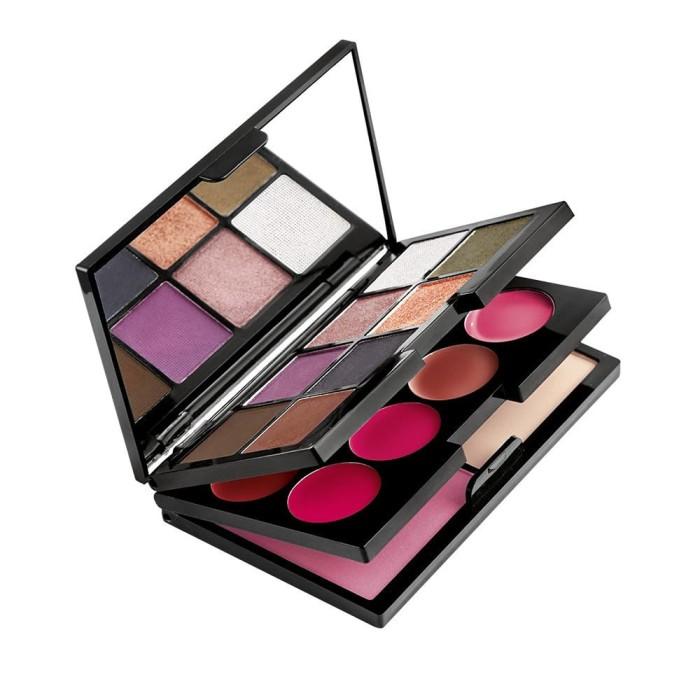 Make up kosmetik wajah sophie martin counture palet wanita