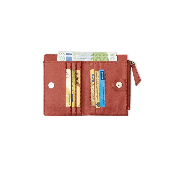 Dompet wanita import kecil merah murah