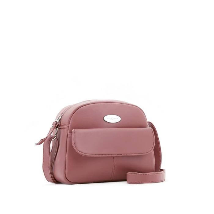 Tas selempang wanita sophie martin pink