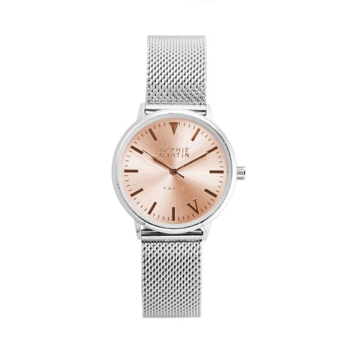 Jam tangan wanita sophie martin import silver