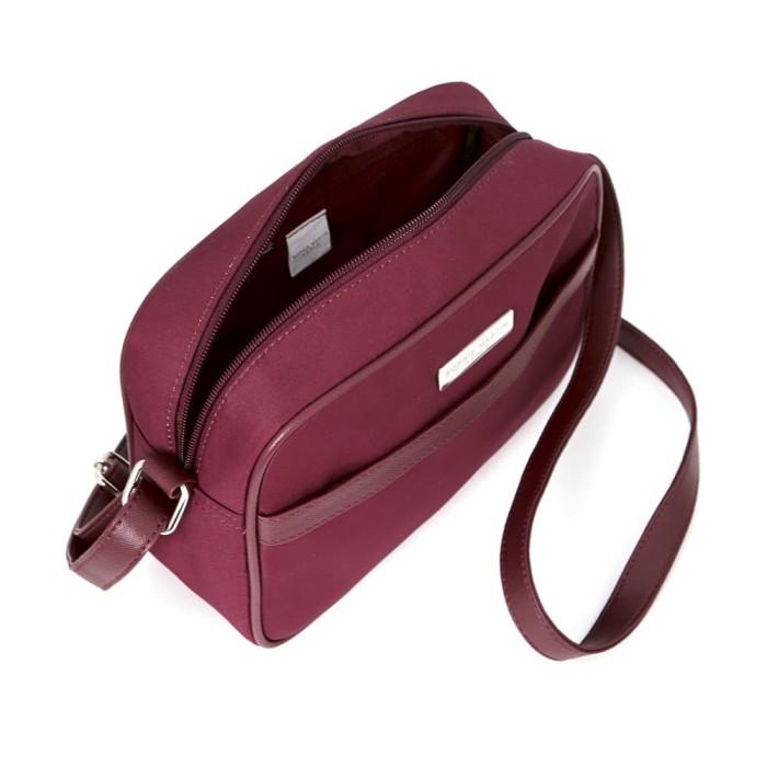 Tas selempang wanita kecil maroon