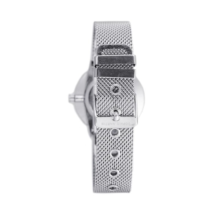Jam tangan wanita import silver