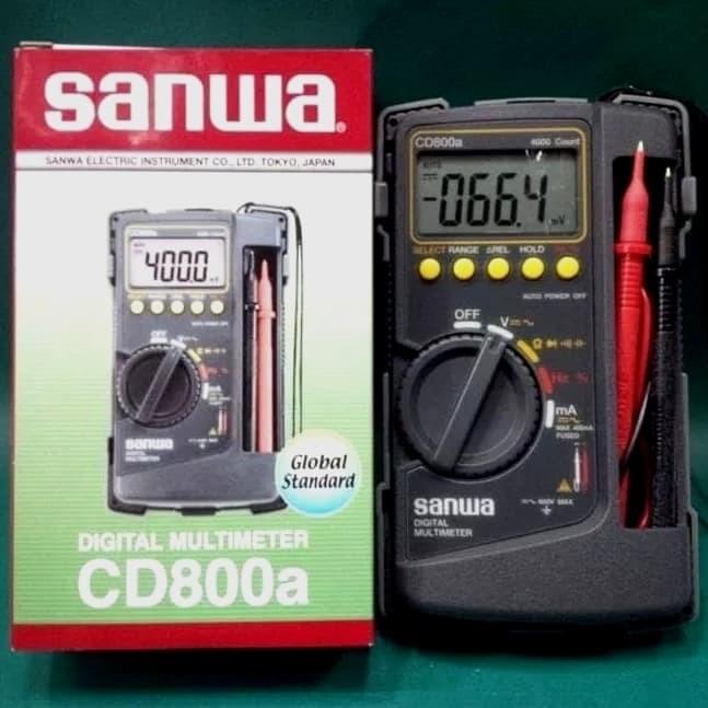 Foto Produk Digital Multitester SANWA CD800a dari Mata Satu Shop