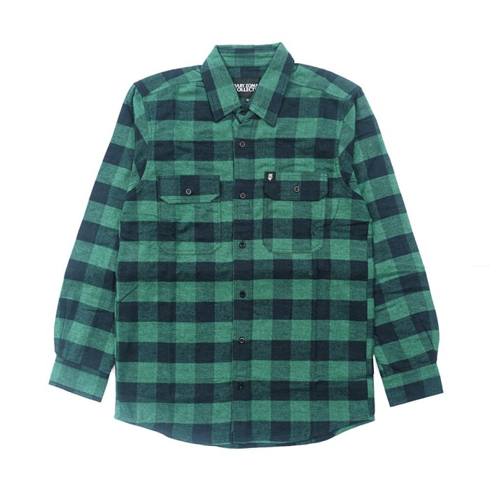 Foto Produk SALE! Turf Green Flannel dari Baby Zombie Co.