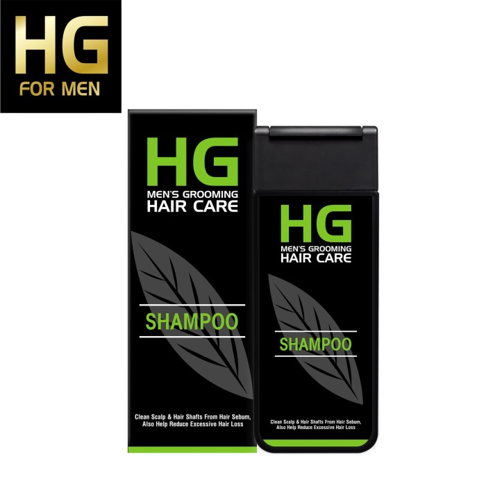 Foto Produk HG Shampoo For Men 200 ml dari Back To Natur