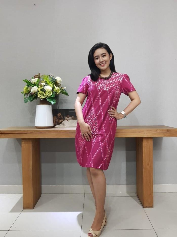 Foto Produk Dress Batik Katun Cirebon Uk S Brand Batik Muda – BAAD72121 dari BatikMuda