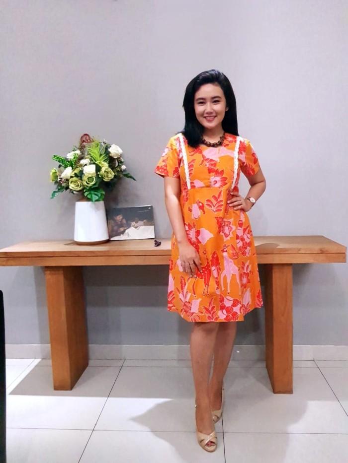 Foto Produk Dress Batik Katun Cirebon Brand Batik Muda Uk S – BAAD72111 dari BatikMuda