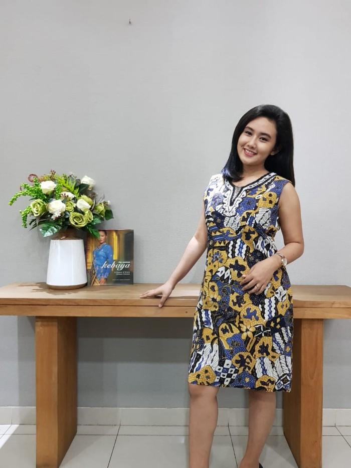 Foto Produk Dress Batik Katun Tulis Cirebon Uk L Brand Batik Muda - BAAD22153 dari BatikMuda