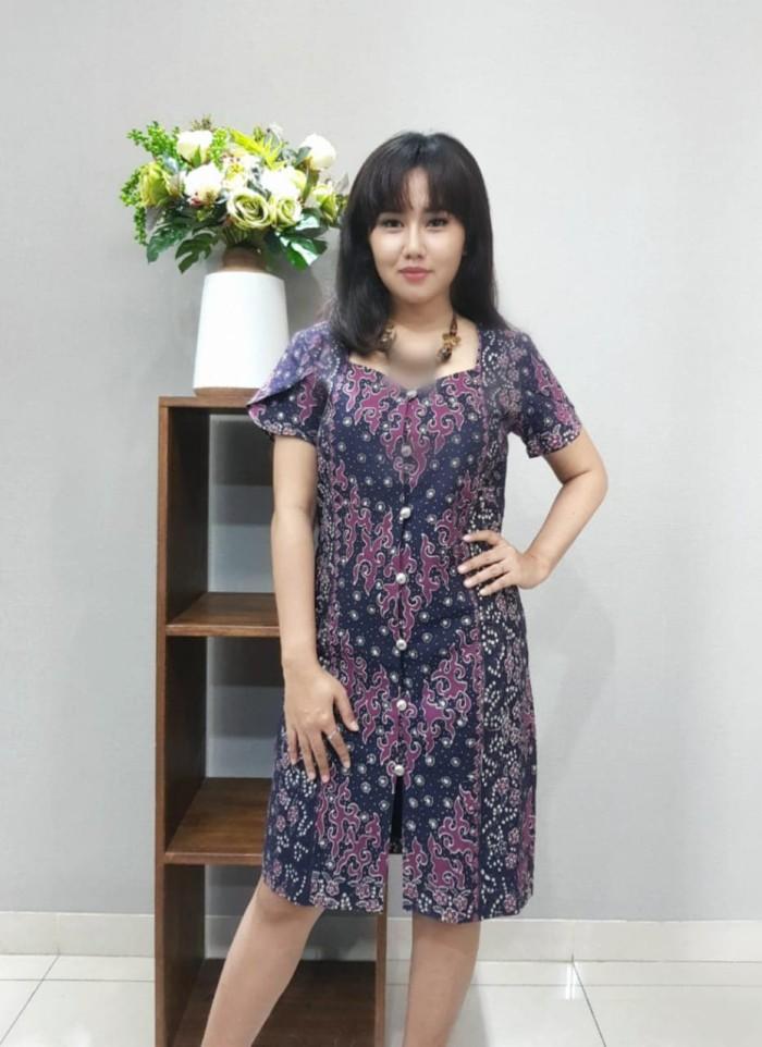 Foto Produk Dress Batik Katun Tulis Lasem Brand Batik Muda Uk M - BAAD25132 dari BatikMuda
