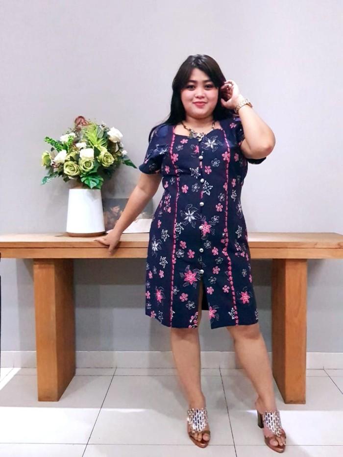 Foto Produk Dress Batik Katun Tulis Lasem Uk XXL Brand Batik Muda - BAAD25135 dari BatikMuda
