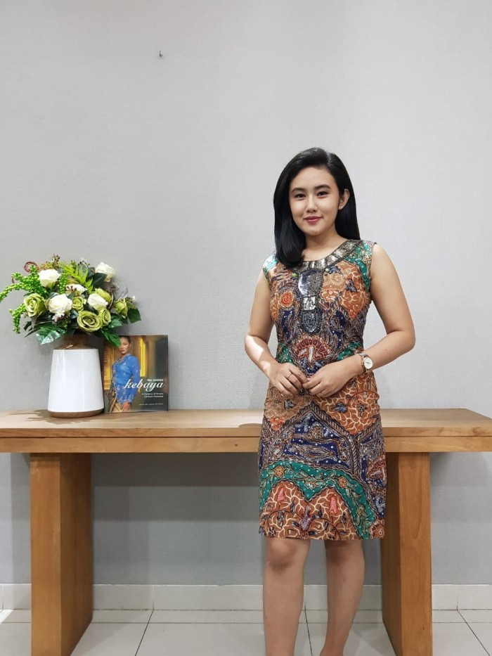 Foto Produk Dress Batik Katun Tulis Pekalongan Brand Batik Muda Uk S - BAAD21151 dari BatikMuda