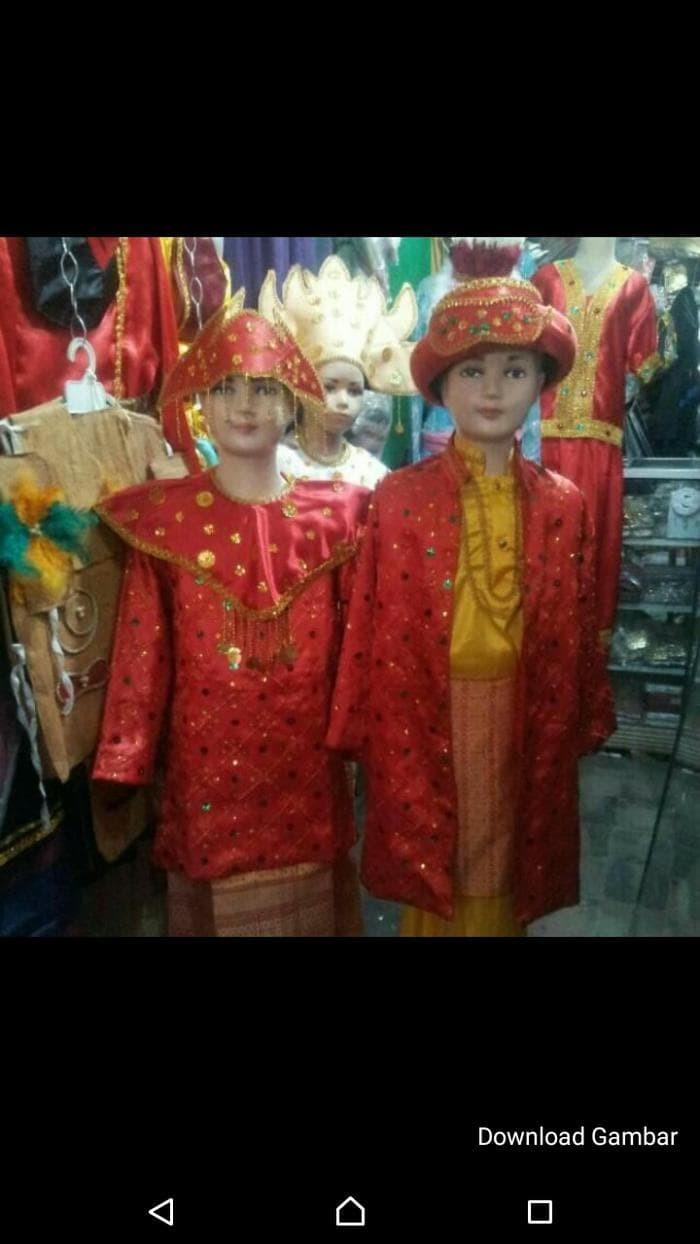 Jual Paling Laris Baju Adat Palembang Jakarta Pusat Filzah Putri