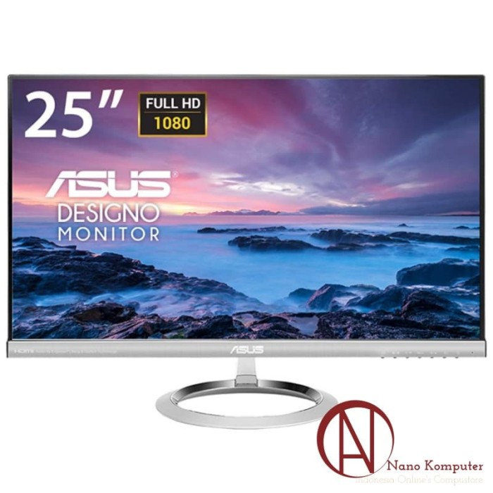 harga Asus designo monitor mx259h 25  fhd ips 60hz 5ms Tokopedia.com