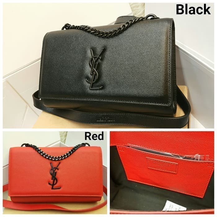 bcc1eb9b927 Jual YSL Clutch Caviar Mirror Quality Sling Bag / Tas / Dompet Pesta ...