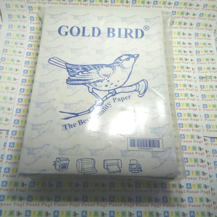 Foto Produk kertas buram A4 / koran A4 merk Gold Bird isi 500 lbr dari ATK Pasar Pagi