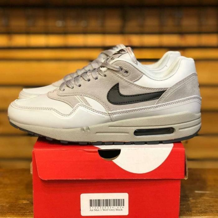 Jual Nike Air max 1 Wolf Grey Black Kota Bandung Arthavera Sneaker | Tokopedia