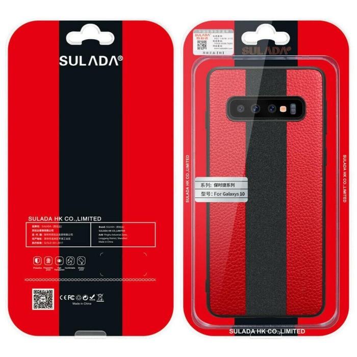 harga Samsung galaxy s10 lite s10e sulada original splice leather hard case Tokopedia.com
