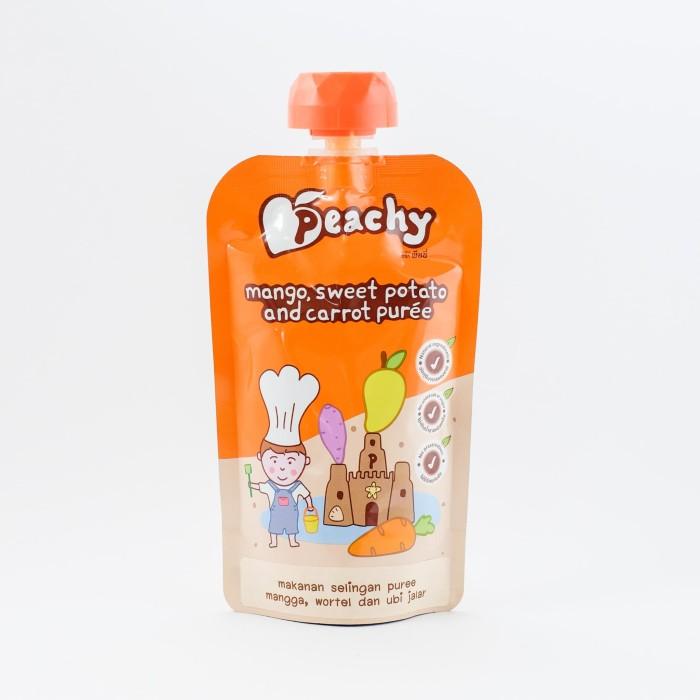 harga Peachy mangosweet potato and carrot puree Tokopedia.com